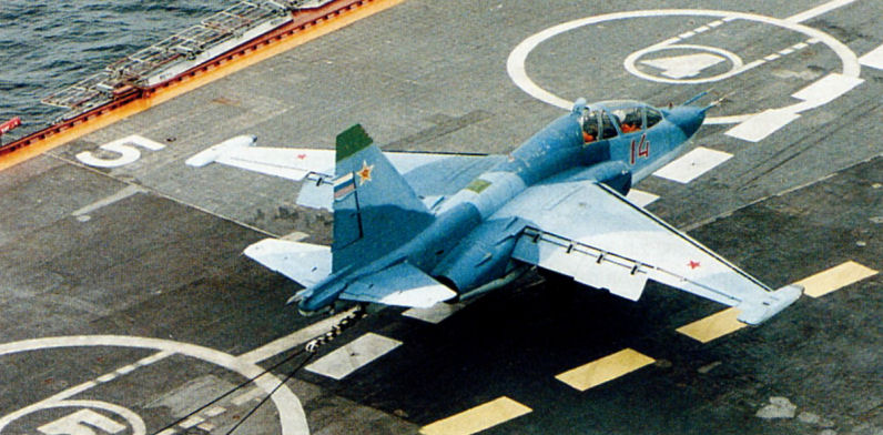 Модернизированный российский штурмовик Су-39: показал палец «Тандерболту» США