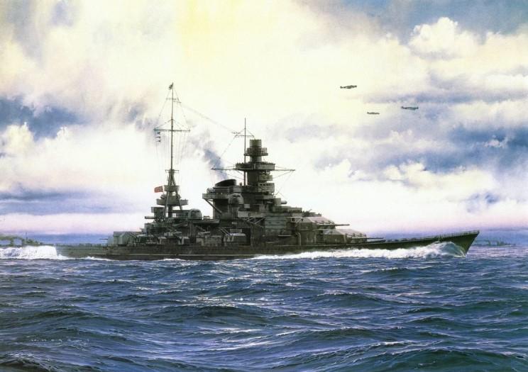 Файл:Portrait of the Scharnhorst, artist unknown.jpg
