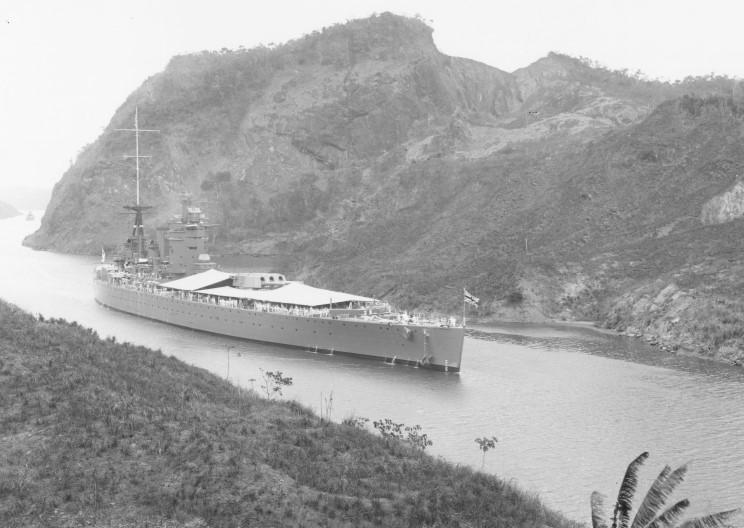 Файл:HMS Nelson seen in the Panama Canal February 23, 1931.jpg