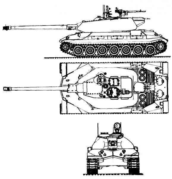Тяжёлый танк Объект 260 , характеристики и описание