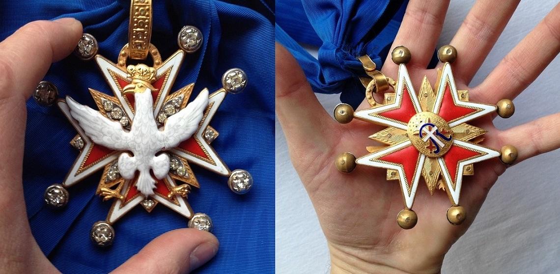 Ордена и символы с орлом