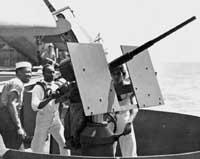 20mm Oerlikon Light Antiaircraft Gun
