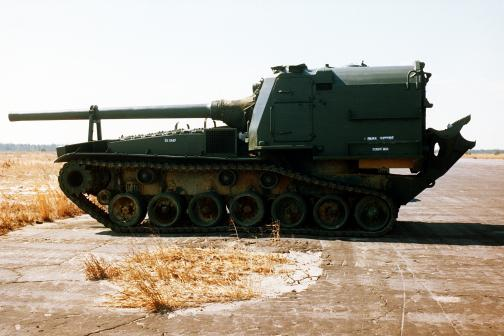 File:M53 155mm self-propelled Howitzer, Elgin AFB, FL, 1979..jpg