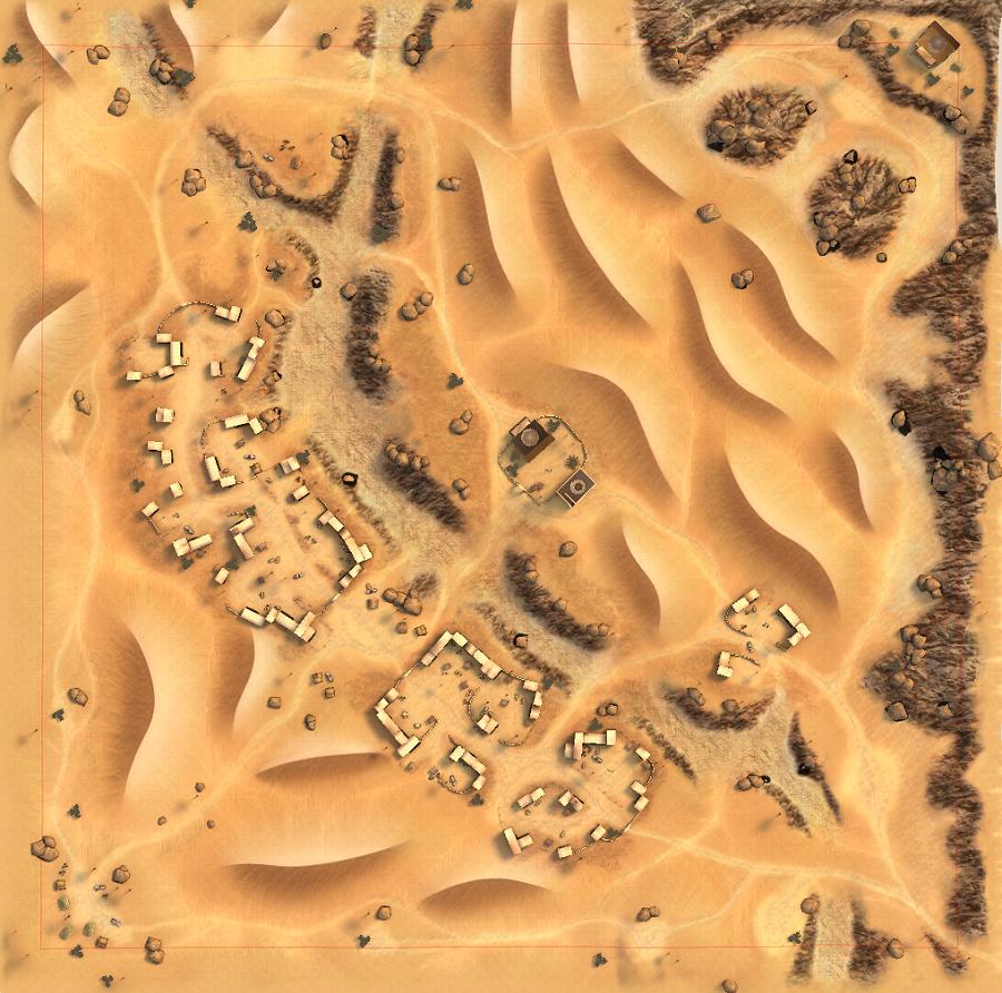 Nowy układ mapy Oaza (od wersji 2.0).