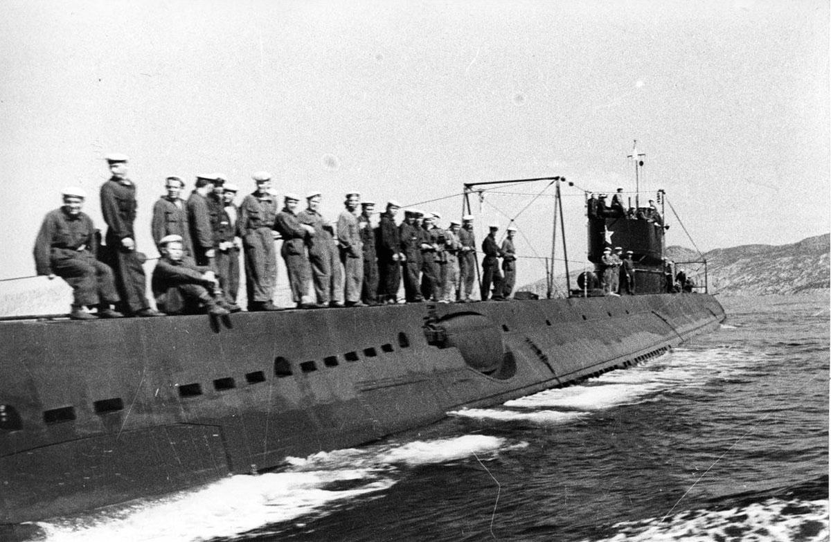 фото старинных подводных лодок