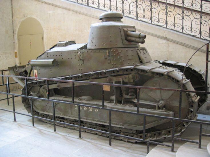 File:French Renault FT 17 tank on display at Musée de l'Armée, Les Invalides.jpg