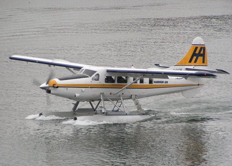 Файл:Поплавковый гидросамолет de Havilland Turbo Otter.jpeg