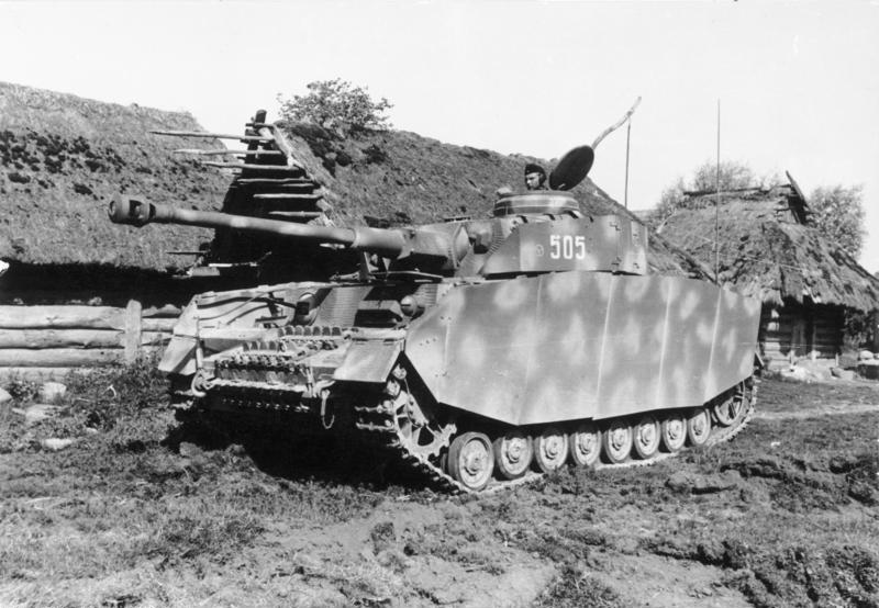 File:PzKpfw IV Ausf H with armor skirts somwhere on the eastern front.jpg