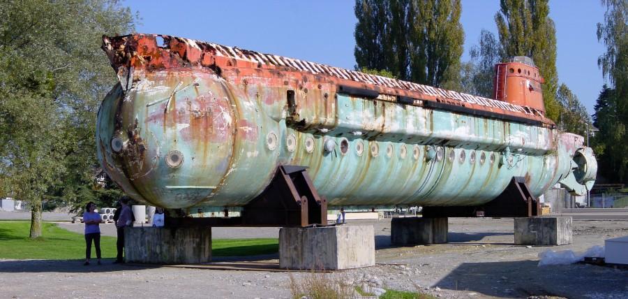 первая подводная лодка 1964