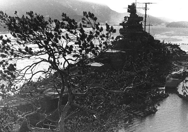 Файл:Tirpitz camouflaged.jpg