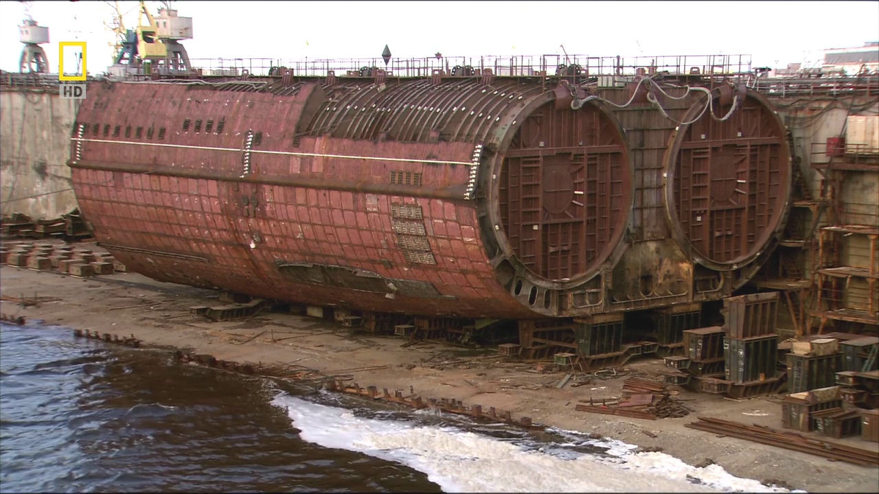 атомная лодка 941 акула