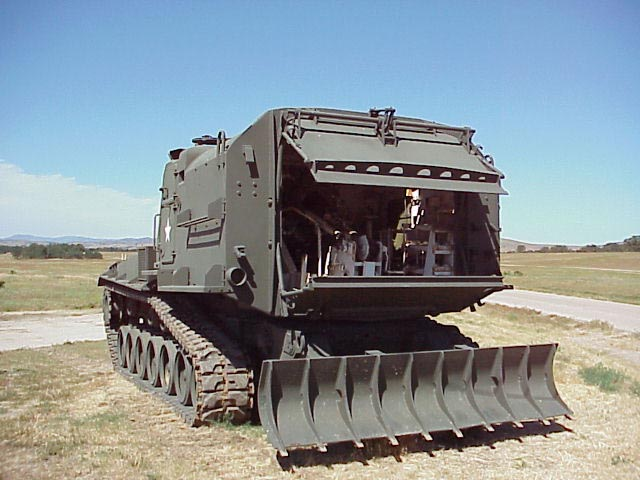 File:M55 howitzer, rear view.JPG