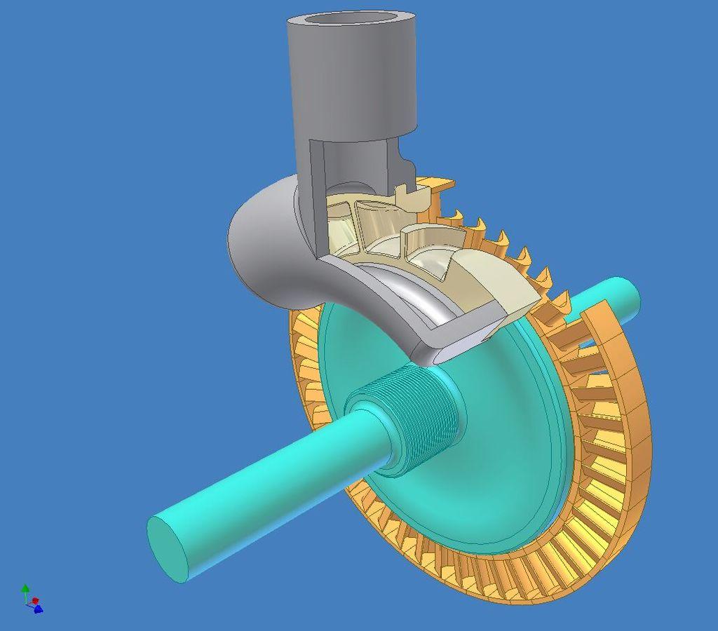 Как сделать паровую турбину 187