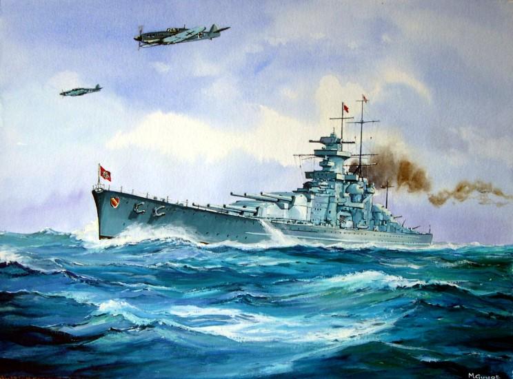 Файл:Portrait of the Scharnhorst by Michel Guyot.jpg