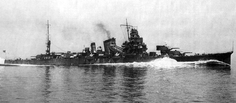 File:Furutaka on speed trials 1939.jpg