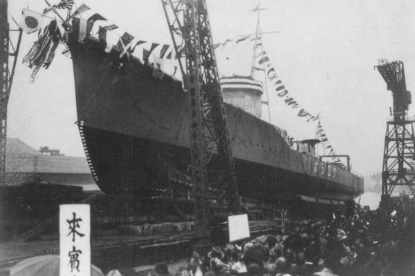 File:IJN DD Kuroshio 1938 launching.jpg