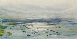 The-Grand-Fleet-in-Scapa-Flow-by-L-Wyllie.jpg