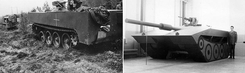 File:Strv S1 and 1961 mock-up.jpg