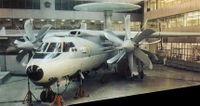 Макет Як-44 в музее