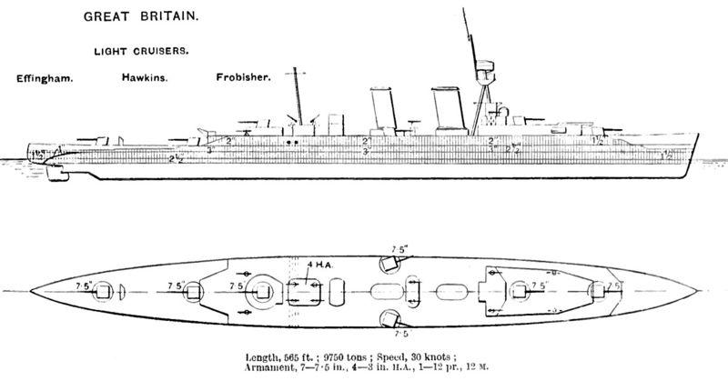 Файл:Hawkins class cruiser diagrams Brasseys 1923.jpg
