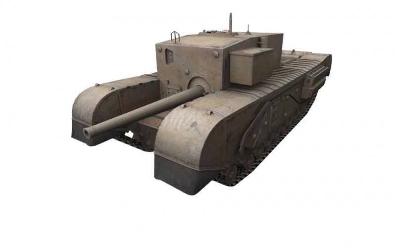 Fichier:Churchill Gun Carrier front left.jpg