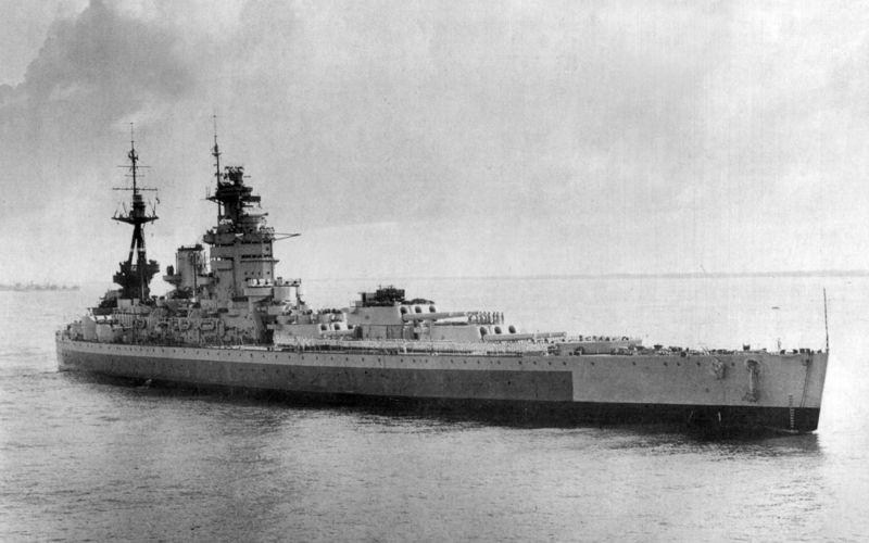 Файл:HMS Nelson в июне 1945 года-2.jpg