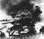 T-34 set on fire near Kursk.jpg