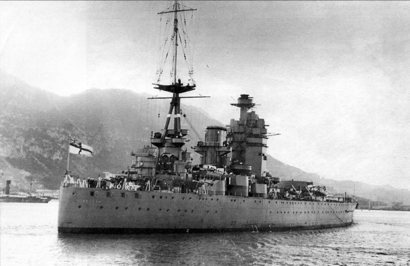 Файл:HMS Nelson в Атлантике - 1932 год.png