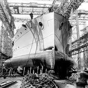 HMS Terror при постройке