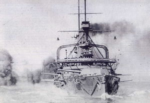 HMS_Swiftsure_(1903)_gunnery_practice_1913.jpg