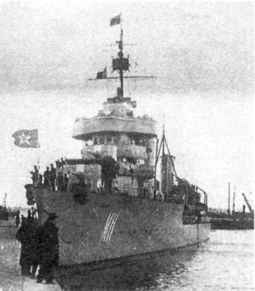 Файл:Лидер Минск прибыл в Таллин, 1940 год.jpg