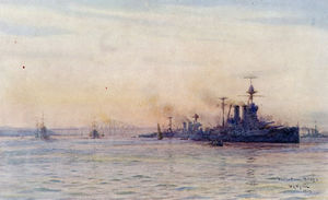 HMS-Valiant-and-HMS-Malaya-in-the-Firth-of-Forth-by-Lionel-Wyllie.jpg
