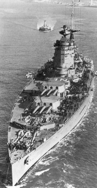 Файл:HMS Nelson, flagship for Admiral Somerville, commanding Force H.jpg