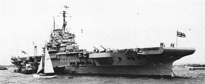 Файл:HMS Illustrious June 1953.jpg