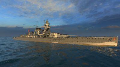 Тип 10 — Admiral Graf Spee