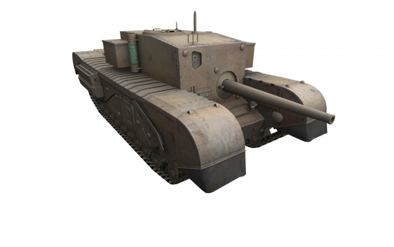 Fichier:Churchill Gun Carrier front right.jpg