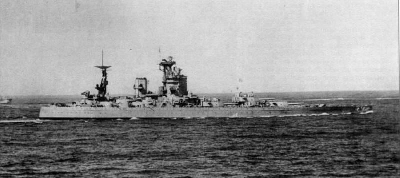 Файл:HMS Nelson во время операции Халберд.png