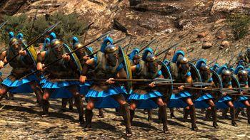 Знатные спартанцы