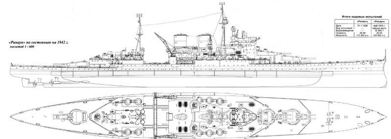 Файл:Внешний вид HMS Renown 1942 год.jpg