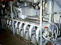 Дизельный двигатель General Motors модели 16-248 V16