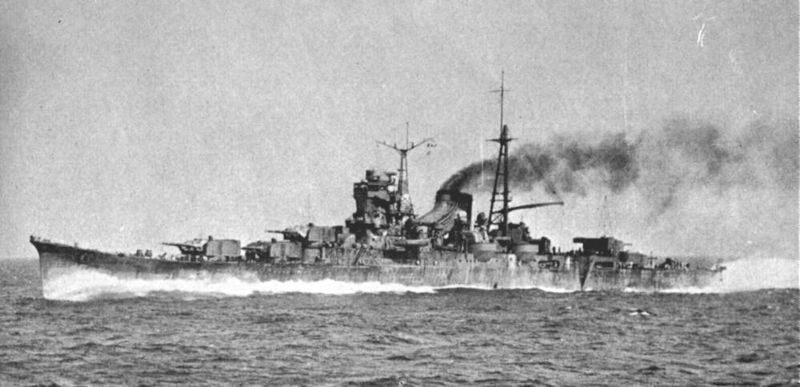Файл:Mogami running trials in 1935.jpg