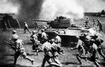 T34 tank supported by infantry at the Battle of Kursk.jpg