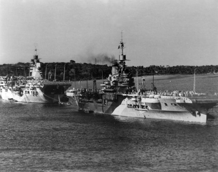Файл:HMS Unicorn (I72) and HMS Illustrious 1944.jpg