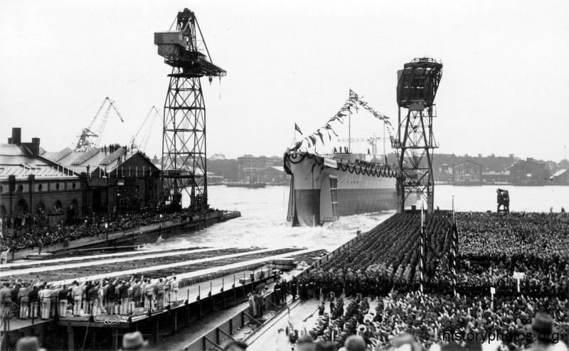 Файл:Scharnhorst спуск.png