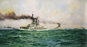 German-Battleships-passing-Heligoland-in-1916-by-Claus-Bergen.jpg