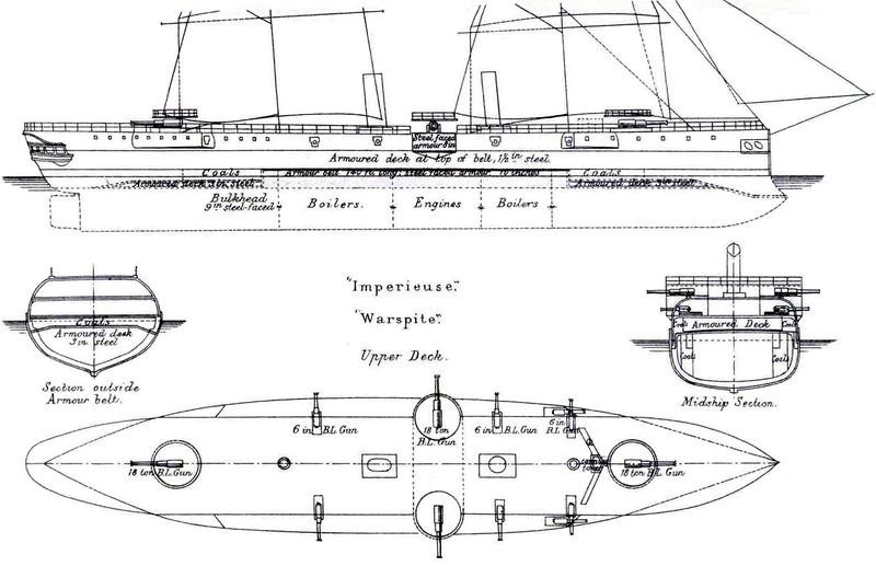 Файл:Imperieuse Class Right Elevation and Deck Plan.jpg