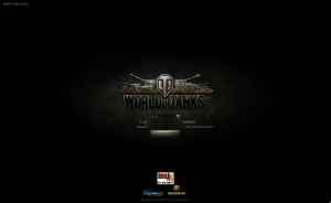The log in screen of WoT