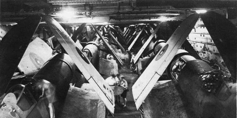Файл:HMS Illustrious inside hangar.jpg