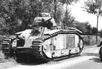 French tank nicknamed Bourgueil, destroyed near Avesnes on May 16, 1940..jpg
