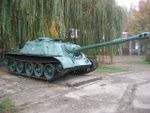 Soviet self-propelled gun SU-122-54, Krasnodar 1.jpg